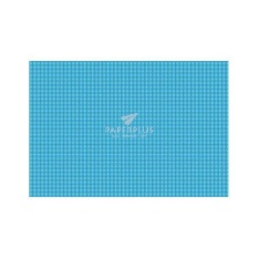 Kertas Kado Besar Kotak Bulat Biru