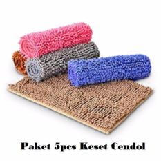 Keset Cendol Paket 5 Pcs Microfiber High Quality Keset Cendol Multicolor Home Klik Diskon 30