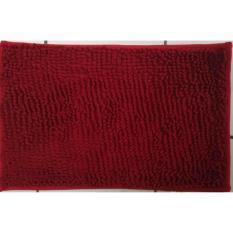 Keset Rosanna Cendol Doff  40x60 Merah Tua