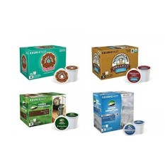 Keurig Tunggal-Serve K-cup Polong, Variasi Bungkus, 48 Count (4 Kotak dari 12 Polong)-Internasional
