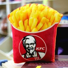 KFC Miniatur Kentang Goreng Saus Tomat Bantal Guling