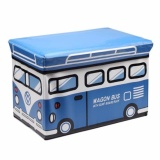 Promo Kid Storage Toys Box Bus Kotak Peyimpanan Mainan