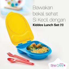 Spesifikasi Kiddos Lunch Set Wadah Bekal Anak Tupperware