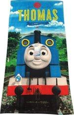 Spesifikasi Kids Character Thomas Sodor Railway Bath Towel Lengkap Dengan Harga