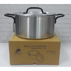 Kidstafun - BIMA PANCI ALUMINIUM SAUCEPOT 28CM 7-0 LITER MADE IN INDONESIA - A006 - Multicolor