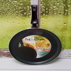 Kidstafun - MAKCOOK CREPES PAN 22 CM / FRYPAN DATAR TEFLON 22 CM HIJAU / MCOOK22 - Multicolor