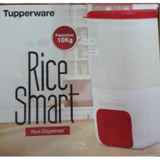 Kidstafun - SALE Tupperware Rice Smart 10 kg Tempat Beras Besar Promo - Multicolor
