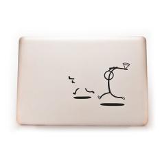 Sky Wing Killer Stickman Decal Sticker Skin for MacBook Laptop - intl