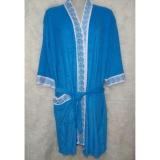 Jual Beli Kimono Handuk Dewasa Warna Biru Tosca Baru Indonesia