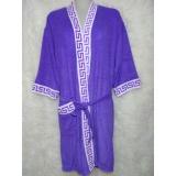 Diskon Kimono Handuk Dewasa Warna Ungu Branded