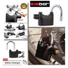 Kinbar Gembok Alarm Super Kuat - Original