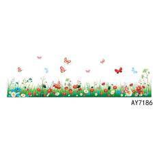 Taman Kanak-kanak Vinil Melewati Garis Dekorasi Rumah Stiker Dinding Mural AY7186-Intl