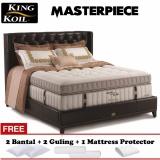 Spesifikasi King Koil Masterpiece Gold Series 200X200 Komplit Set Paling Bagus