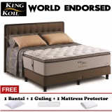 Harga King Koil World Endorsed New Series 120X200 Kasur Tanpa Divan Sandaran Original