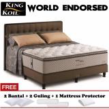 King Koil World Endorsed New Series 160X200 Kasur Tanpa Divan Sandaran King Koil Diskon 30