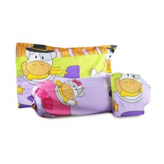 Diskon Besarking Rabbit Sprei Set Anak Cow N Airplane Full Size 120X200X20 Ungu