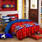 Review Toko King Sprei Katun Motif Arsenal