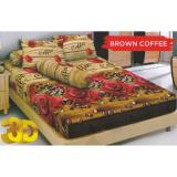 Beli Kintakun D Luxe Brown Coffee Sprei Set 180X200X20Cm King Size Murah