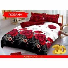 Diskon Kintakun Dluxe 3D Motif Rosana Uk 160X200 Banten