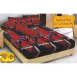 Diskon Produk Kintakun D Luxe Amazing Spiderman Sprei Set 160X200X20
