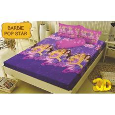 Jual Kintakun Dluxe Barbie Sprei Set 160X200X20 Queen Size Antik