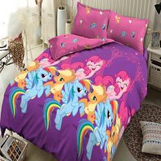 Kintakun Dluxe Bedcover King Motif Classic Little Pony 180x200 cm
