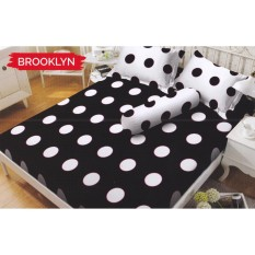 Dimana Beli Kintakun Dluxe Brooklyn Sprei Set Single 120X200X20Cm Kintakun
