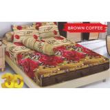 Promo Kintakun D Luxe Brown Coffee Sprei Set 160X200X20Cm Akhir Tahun