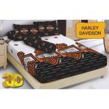 Harga Kintakun D Luxe Harley Davidson Sprei Set 160X200X20 Asli Kintakun