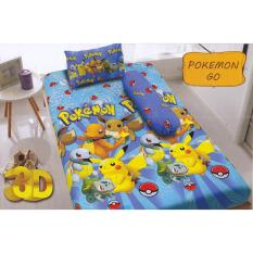 Review Kintakun D Luxe Pokemon Sprei Set 120X200X20 Terbaru
