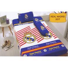 Harga Kintakun D Luxe Real Madrid Sprei Set 120X200X20 Terbaru