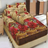 Harga Kintakun Dluxe Sprei 180X200 Motif Brown Coffee Online Indonesia