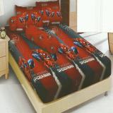 Jual Kintakun Dluxe Sprei King Motif Amazing Spiderman 180X200 Cm Branded