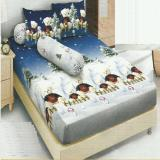 Beli Kintakun Dluxe Sprei King Motif Snow Bear 180X200 Cm Online Terpercaya