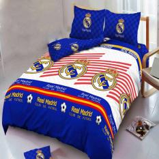 Jual Beli Kintakun Dluxe Sprei Motif Real Madrid2017180X200Cm Baru Indonesia