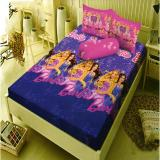 Model Kintakun Dluxe Sprei Queen Motif Barbie Pop Star 160X200 Cm Terbaru