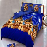 Tips Beli Kintakun Dluxe Sprei Queen Motif France Bear 160X200 Cm