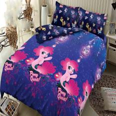 Harga Kintakun Dluxe Sprei Queen Motif Pony The Movie 160X200 Cm Satu Set