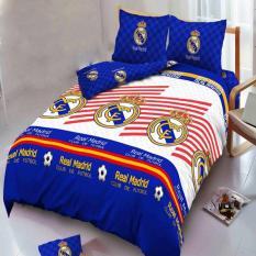 Beli Kintakun Dluxe Sprei Queen Motif Real Madrid2017 160X200 Cm Yang Bagus