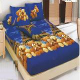Kintakun Dluxe Sprei Single Motif France Bear 120X200 Cm Indonesia Diskon