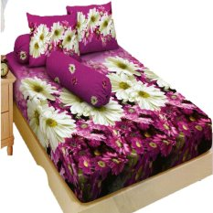 Harga Kintakun Dluxe Sprei Single Motif Michele 120X200 Cm New