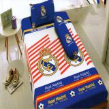 Harga Hemat Kintakun Dluxe Sprei Single Motif Real Madrid2017 120X200 Cm