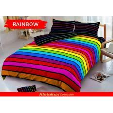 Jual Kintakun Dluxe Sprei Uk 160 X 200 Motif Rainbow Murah Di Banten
