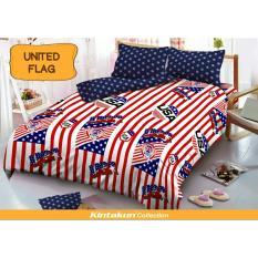 Toko Kintakun Dluxe Sprei Uk 180 X 200 Motif United Flag Online Terpercaya
