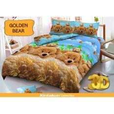 Jual Kintakun D Luxe Sprei Uk 120 X 200 Motif Golden Bear Branded
