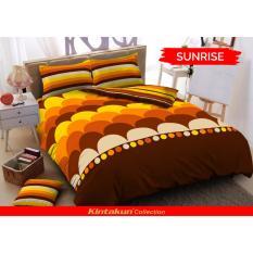 Spesifikasi Kintakun Dluxe Sprei Uk 180 X 200 Motif Sunrise Baru