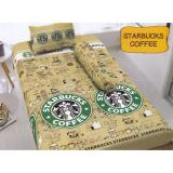Promo Kintakun D Luxe Starbucks Coffee Sprei Set 120X200X20 Di Indonesia