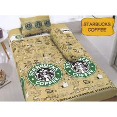 Kintakun D Luxe Starbucks Coffee Sprei Set 120X200X20 Diskon Indonesia