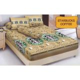 Jual Kintakun D Luxe Starbucks Coffee Sprei Set 180X200X20 Online Di Indonesia