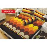 Jual Kintakun Dluxe Sunrise Sprei Set 160X200X20Cm Queen Size Branded Murah